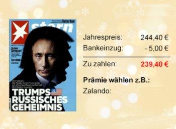 Stern: Jahresabo für 239,40 Euro mit Zalando-Gutschein über 240 Euro