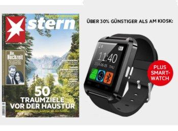 Stern: Sieben Ausgaben inklusive Smartwatch für zusammen 22,90 Euro