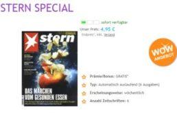 Stern: Mini-Abo mit automatischem Ende für 4,95 Euro