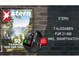 Gratis: Smartwatch zum Stern-Miniabo für 22,90 Euro geschenkt