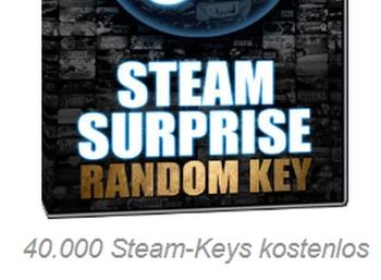 Gratis: 40.000 Steam-Keys bei Chip für Gamer geschenkt