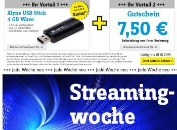 Streaming-Woche mit USB-Stick und Extra-Rabatt
