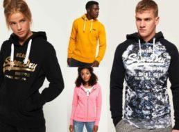 Superdry: Kapuzenshirts für 31,95 Euro bei Ebay