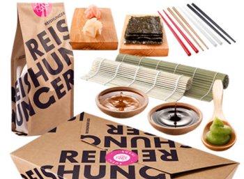Sushi-Box für vier Personen zum Preis von 11,51 Euro frei Haus