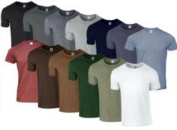 Ebay: 7er-Pack Gildan-T-Shirts für 19,95 Euro frei Haus