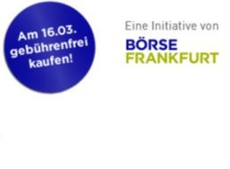 Tag der Aktie: DAX-Werte und neun ETFs am 16. März ohne Gebühren