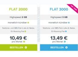 Tarifhaus: Monatlich kündbare Allnet-und SMS-Flat mit EU-Roaming für 10,49 Euro