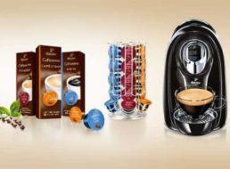 Tchibo: Cafissimo Compact mit 80 Kapseln für 44,10 Euro