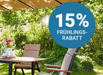 Tchibo: Garten-Rabatt von 15 Prozent bis kommenden Montag