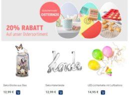 Tchibo: Oster-Sale mit 20 Prozent Extra-Rabatt
