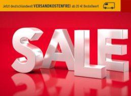 Tchibo: Sale mit Gratis-Versand ab 20 Euro Bestellwert