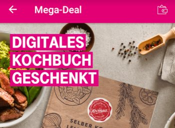 Gratis: Digitales Kochbuch für Telekom-Kunden zum Nulltarif