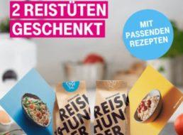 Gratis: Zwei Tüten Reis zum Nulltarif frei Haus für Telekom-Kunden