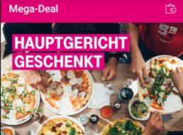 Vapiano: Hauptgericht gratis via Telekom Megadeal