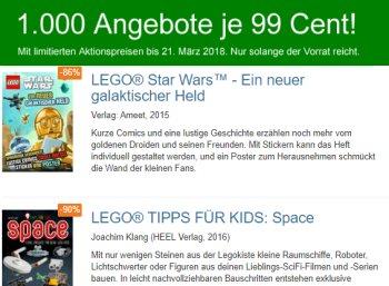 Terrashop: 1000 Bücher, T-Shirts und mehr für je 99 Cent