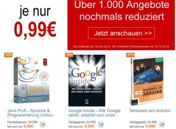 Terrashop: Über 600 verschiedene Bücher und Reiseführer unter einem Euro