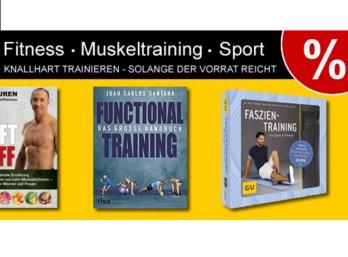 Terrashop: 60 Fitnessbücher ab 2,99 Euro frei Haus