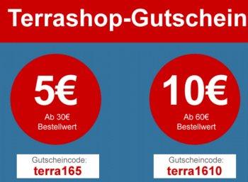 Terrashop: Rabatt von 5 - 10 Euro auf 20.000 Sonderangebote