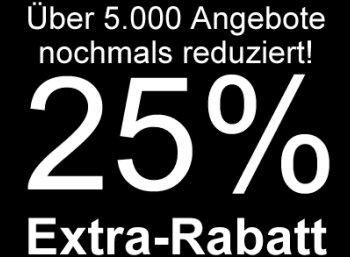 Terrashop: 5000 reduzierte Artikel nochmals 25 Prozent billiger