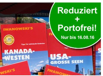 Terrashop: Iwanwoski-Reiseführer ab 3,99 Euro frei Haus - nur heute