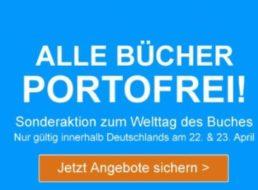 """Terrashop: Gratis-Versand zum """"Welttag des Buches"""""""