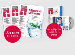 Test: Drei Ausgaben inklusive Jahrbuch und Jahres-CD für 9,90 Euro frei Haus