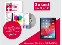 """Knaller: 3 x """"test"""" plus Jahres-CD und Jahrbuch für 9,90 Euro"""
