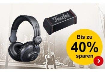 Teufel: Soundsysteme ab 54 Euro mit Gratis-Versand bei Allyouneed