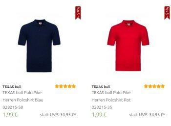 Outlet46: 5000 Poloshirts ab 1,99 Euro frei Haus