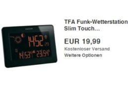 Ebay: TFA-Funk-Wetterstation-Slim-Touch für 19,99 Euro frei Haus