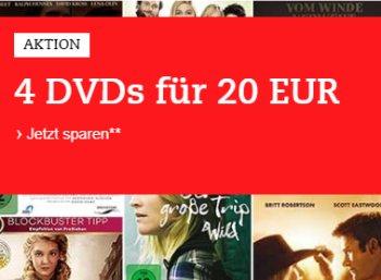 Thalia: Vier DVDs nach Wahl für 20 Euro frei Haus