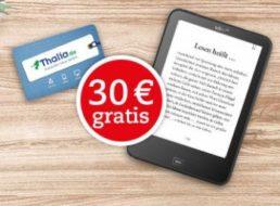Thalia: Tolino Shine HD für 119 Euro mit Geschenkekarte über 30 Euro