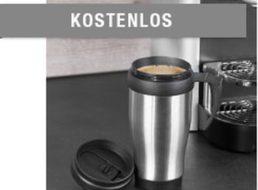 Druckerzubehoer: Edelstahl-Thermobecher für 5,97 Euro mit Versand