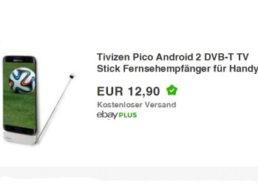 Ebay: DVB-T-Stick fürs Handy zum Preis von 12,90 Euro frei Haus