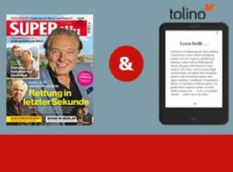 eBook-Reader: Tolino Shine 2 mit Abo für zusammen 99 Euro