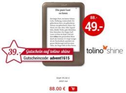 Weltbild: eBook-Reader Tolino Shine für 49 statt 88 Euro frei Haus