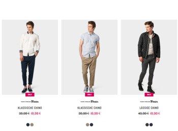Tom Tailor: 20 Prozent Rabatt auf Hosen und Jeans