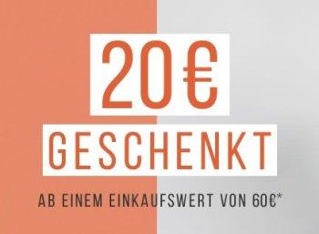 Tom Tailor: 20 Euro Rabatt ab 60 Euro Warenwert für fünf Tage