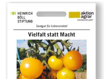 Gratis: Tomatensamen ohne Patentierung zum Nulltarif frei Haus