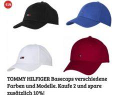 Tommy Hilfiger: Basecaps für 14,99 bis 16,99 Euro beim Dealclub