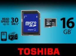 Meinpaket: Toshiba Micro SDHC 16 GByte für 8,99 Euro frei Haus