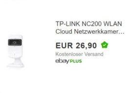 Ebay: Netzwerkkamera TP-Link NC200 für 26,90 Euro frei Haus