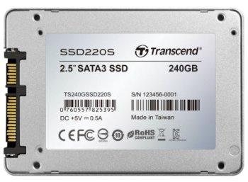 Transcend: SSD mit 240 GByte für 49,95 Euro frei Haus