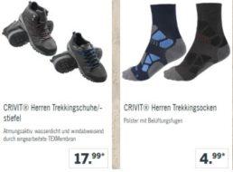 Lidl: Trekking-Kleidung mit 15 Prozent Rabatt und Gratis-Versand
