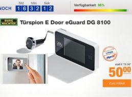 Plus: Türspion Burgwächter E Door eGuard DG 8100 für 50 Euro frei Haus