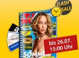 TV Movie: Jahresabo für 54,90 Euro mit Otto-Gutschein über 60 Euro