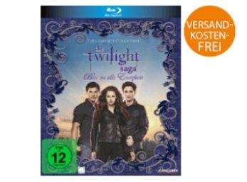 Saturn: Twilight-Saga Complete Collection auf Blu-ray für 11,99 Euro frei Haus