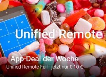 """Google: Top bewertete App """"Unified Remote Full"""" für zehn Cent statt drei Euro"""