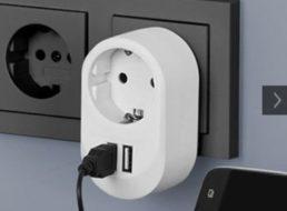 Druckerzubehoer.de: Steckdose mit Doppel-USB-Anschluss für 0 Euro plus Versand