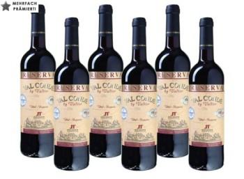 Zwölf Flaschen prämierter Val Conde by Valtier aus 2009 für 45 Euro